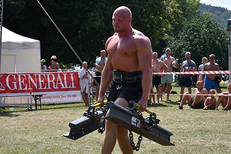 Homme fort de l'été Vranov